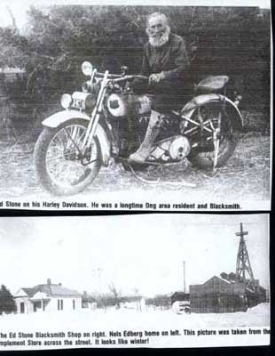 News Clipping - Guy on Motorcycle