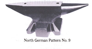 North German Pattern No. 9 Anvil